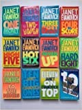 img - for Janet Evanovich (Stephanie Plum Set of 12) #1, One for the Money; thru #12, Twelve Sharp book / textbook / text book
