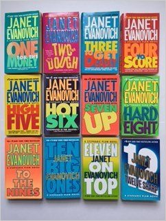 Janet Evanovich (Stephanie Plum Set of 12) #1, One for the Money; thru #12, Twelve Sharp