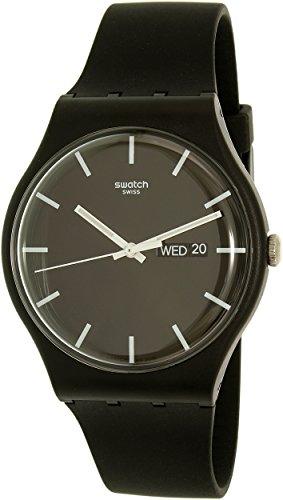 Swatch SUOB720 Black Silicone Quartz product image