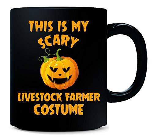 This Is My Scary Livestock Farmer Costume Halloween Gift - Mug]()