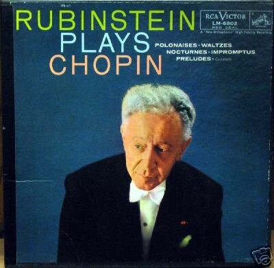- Rubinstein Plays Chopin