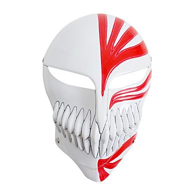 Bleach - Hollow Ichigo - Blanco/Rojo - PVC - Máscara -: Amazon.es: Deportes y aire libre