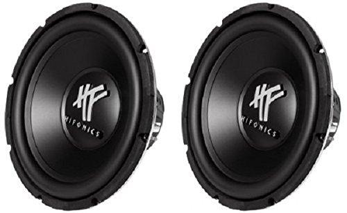 Hifonics HFX12D4 PAIR 400 Watt 12 Inch Subwoofer