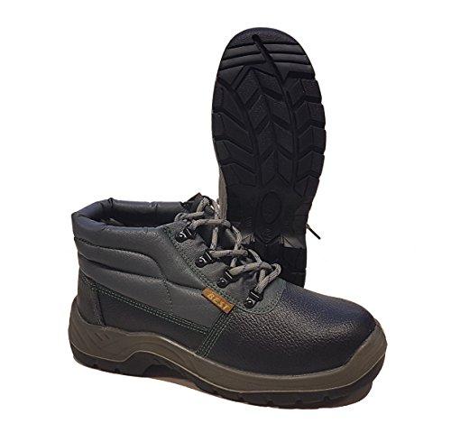 Seba 656A Schuh hohe ohne Kappe/Zwischensohle, Größe 44, Schwarz