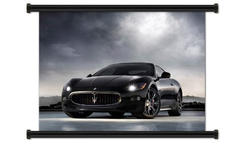 maserati-granturismo-fabric-wall-scroll-poster-32-x-24-inches