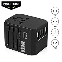 MIBOTE Universal Travel Adapter Power Converter