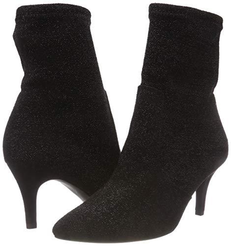 Metallic Negro Para Tozzi Marco black Botines 033 Mujer 31 25032 cUFnn4x8