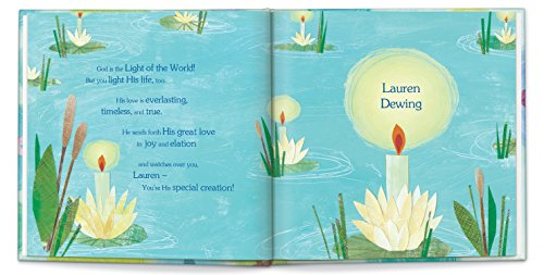God Loves You! Personalized Book: I See Me! Book / Great Baptism Gift!