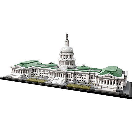 LEGO Architecture 21030 United States Capitol Building Kit (1032 Pieces) (Lego Architecture Building Set)