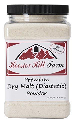 Hoosier Hill Farm Dry Malt (Diastatic) baking Powder 1.5 lb. (Malt Powder)