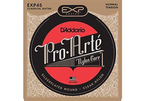 DAddario EXP45 - Juego de Cuerdas para Guitarra Clásica de Nylon con Entorchado de