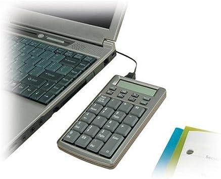 Kensington Pocket KeyPad with 2-Port USB Hub Computers ...