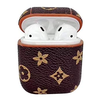 Amazon.com: Airpods Case Keychain,MeiQing Leather AirPod