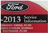 2013 FORD FLEX Service Shop Repair Information Workshop Manual ON CD NEW