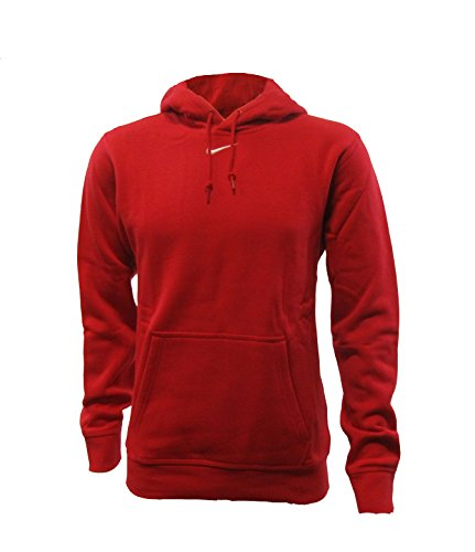 Nike Team Club Fleece Hoody Scarlet/White Mens Size XL