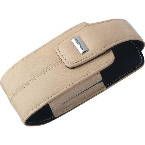 002 Rim Blackberry - RIM Lambskin Leather Swivel Holster