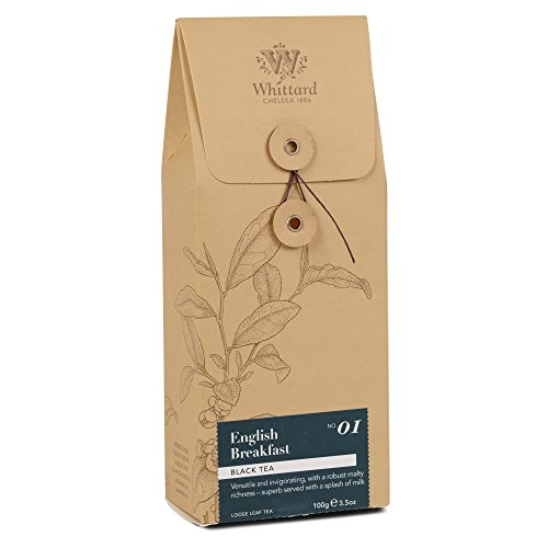 Whittard Tea English Breakfast Loose Leaf Tea 100g