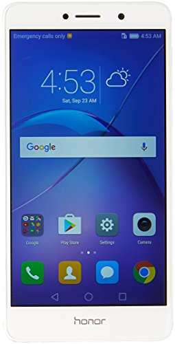 Huawei Honor 6X Dual Camera Unlocked Smartphone, 32GB Silver (US Warranty)