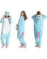 Kids Unisex Unicorn Onesie Pajamas Animal...