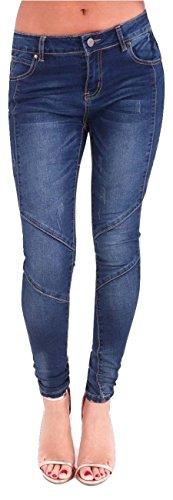 Vaqueros Fashions para mujer Momo amp;Ayat Azul 04xw4Aq