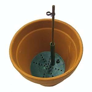 GardenSkill Pot-Maestro - Juego de 3 tapas para drenaje, listo para usar, 95 mm de diámetro