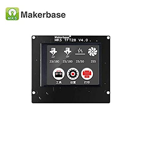 MKS tft28 V3.0 Impresora 3D Pantalla táctil 2.8