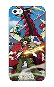 QJikakF5417UEayT Case Cover Protector For Iphone 5/5s Yu-gi-oh Arc-v Characters Case(3D PC Soft Case)