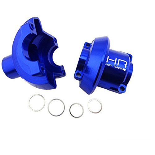 - Hot Racing RVO11L06 CNC Aluminum Outer Differential Case Blue Revo, Blue