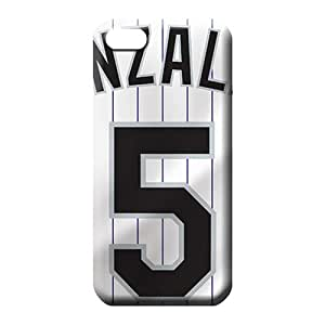 iphone 6 normal covers Back Protective Stylish Cases phone cover case colorado rockies mlb baseball
