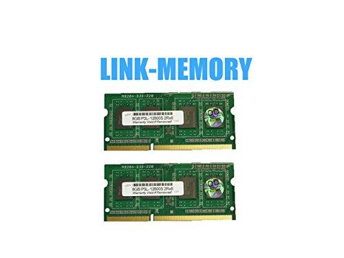 16GB 2x8GB PC3L-12800S 1600Mhz Memory Toshiba C55-A5285, ...