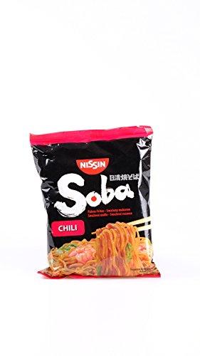 Nissin - Tallarines De Soba Instantaneos Sabor A Chili Producto De Japon 110G