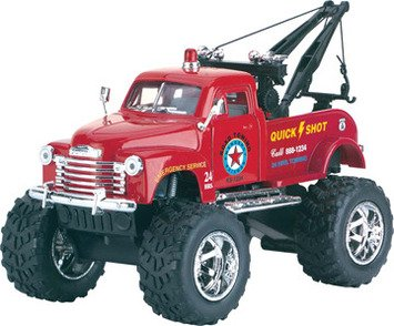 Big Wheel Tow Truck (Colors & Styles May (Tonka Tow Truck)