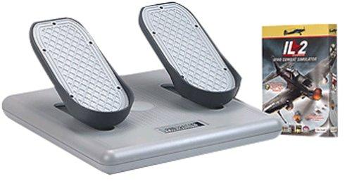 Usb Rudder Pedals (CH Products USB Pro Pedals And IL-2 Sturmovik Software Bundle)