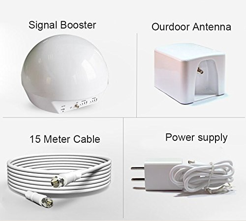 Sanqino Cell Phone Signal Booster for Home 2G/3G/4G Signal Repeater For Verizon Sprint T-mobile AT&T Cellular by SANQINO (Image #1)