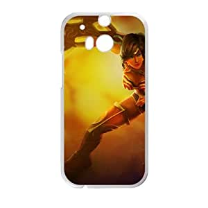 HTC One M8 Cell Phone Case White League of Legends Spectacular Sivir TJ2749678