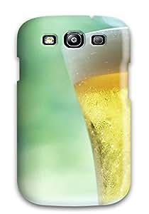 New Style ZAIFDIBEYZMWK0BW Protective Tpu Case With Fashion Design For Galaxy S3 (drink)