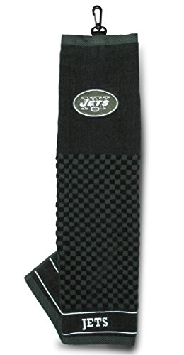 Team Golf 32010 New York Jets Embroidered Towel by Team Golf