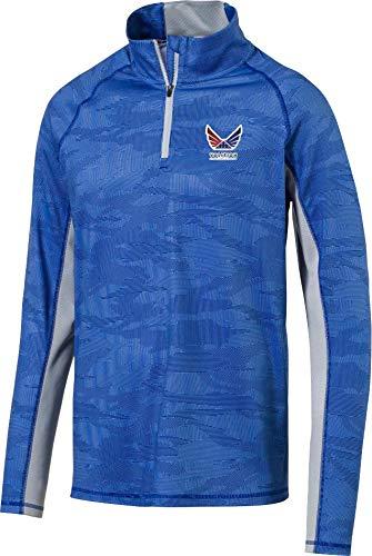 [プーマ] メンズ シャツ PUMA Men's Volition Signature Golf Zip [並行輸入品]   B07QQQ6923