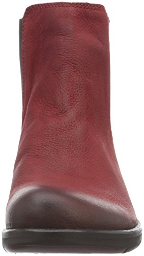 Fly London Make, Stivali Chelsea Donna Rosso (Red 016)