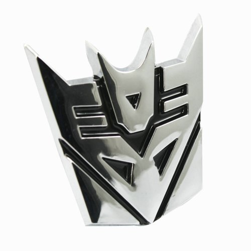 Transformer Decepticons Emblem Sticker Chrome product image