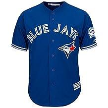 Toronto Blue Jays 40th Season Men's Cool Base Jersey Away Size S-3XL