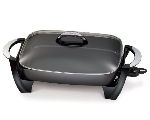 Presto 06855 16-Inch Electric Skillet with Removable Handles
