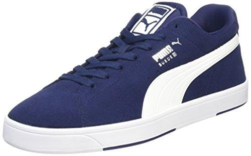 Chaussures De Sport Herren S Daim Puma Blau (peacoat-wht-)