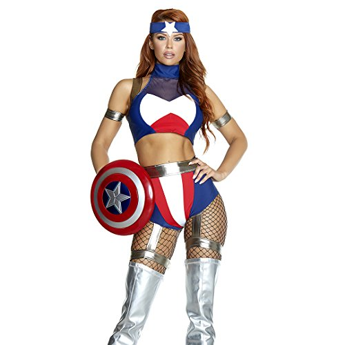 Super Soldier Sexy Hero Costume (Sexy Soldier Costumes)