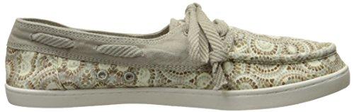 Sanuk Women's Pair O Sail Prints Boat Shoe, Natural Multi Radio Love, M