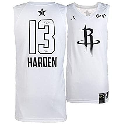 f6391fe68 James Harden Autographed Jersey - Jordan Brand White All Star Game ...