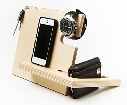 Charging-Station-for-Iphone-Ipad-Samsung-and-Other-Smartphones-Tablets-and-Smart-Watches-The-Catchall-Stand