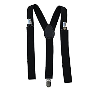 Mens/Womens One Size Suspenders Adjustable – (Various Neon Colors)