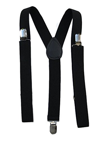 Mens / Womens One Size Suspenders Adjustable - (Various Neon Colors)
