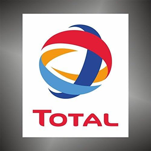 Graphic Lab Aufkleber Sticker Total Auto Rally Formula 1 Racing Decal Sticker Küche Haushalt